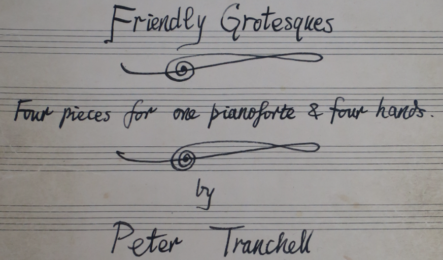 Tranchell Friendly Grotesques original cover