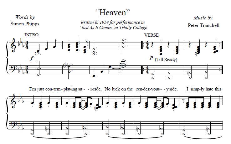 Tranchell Heaven score preview