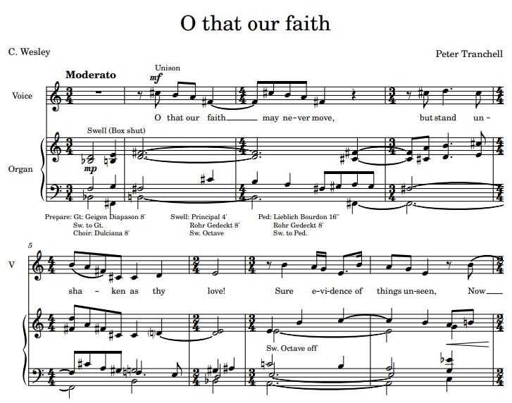 O that our faith