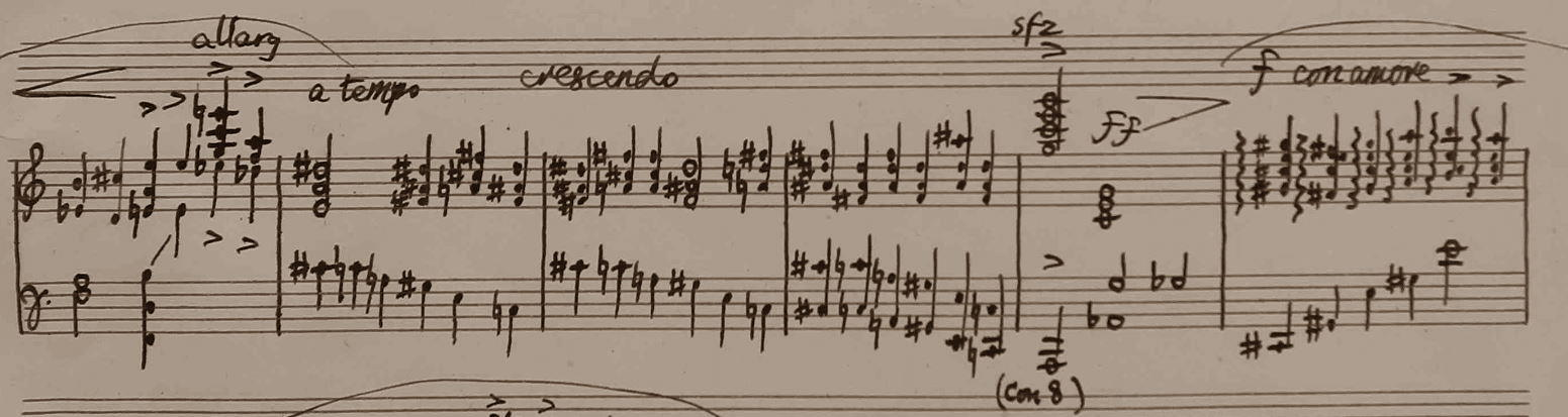 Sonatina for pianoforte