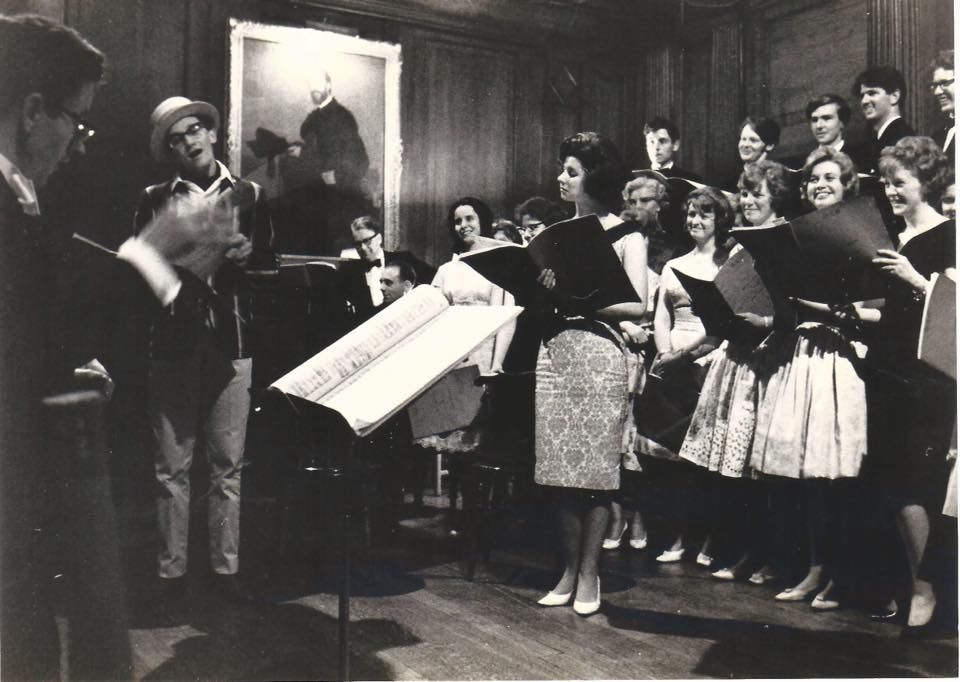 Daisy Simpkins performance in Selwyn College, 1962